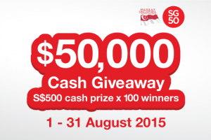 Sunshine SG50 Contest Promo Web Banner - News Page