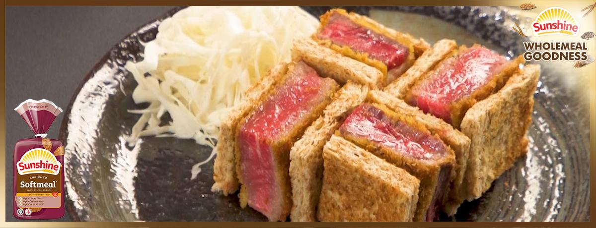 Sunshine Bakeries_Beef Katsu Softmeal Sandwich_1200 x 460